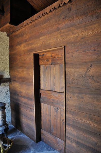 Foto parete divisoria con porta scorrevole di falegnameria la misoun d 39 oc s n c 423870 - Parete attrezzata con porta scorrevole ...