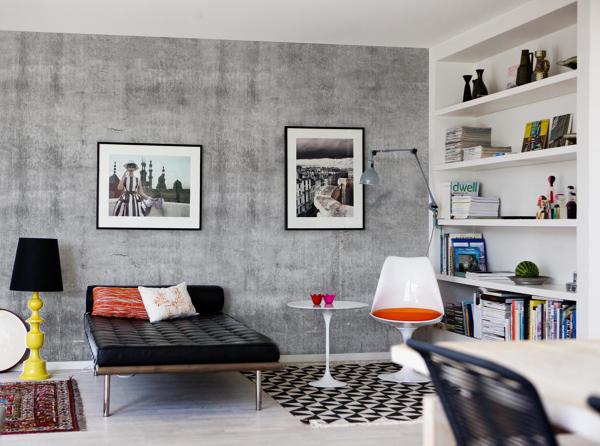 Foto parete effetto cemento di manuela occhetti 374712 for Parete effetto cemento