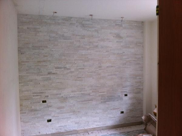 Foto parete in geo pietra di lb srl 290795 habitissimo - Pietra da interno su muro ...