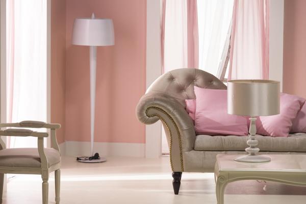 Camera Da Letto Rosa Antico : Color cipria pareti
