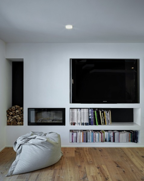 Foto parete soggiorno de rossella cristofaro 365769 for Parete soggiorno cartongesso