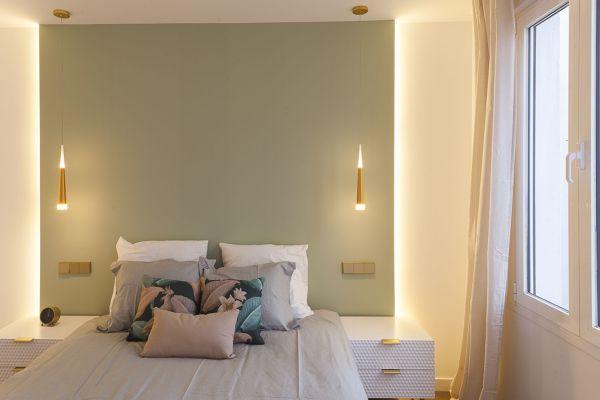 Foto: Parete Verde Camera da Letto di Rossella Cristofaro ...