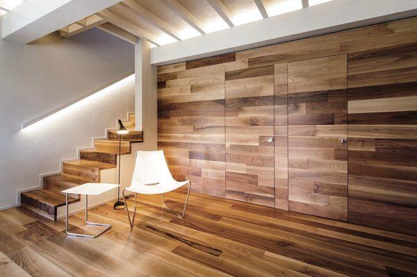 Rivestimento In Legno Parete : Foto parquet e rivestimenti per pareti in legno di rossella