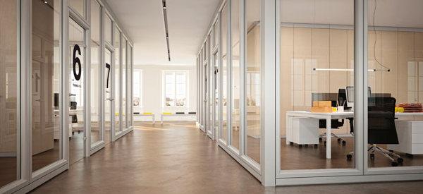 Foto partizioni interne pareti divisorie in vetro di linekit 326826 habitissimo - Pareti interne in vetro ...