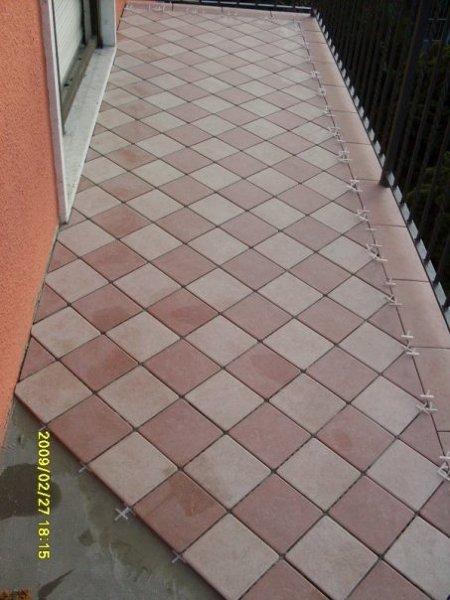 Foto pavimento terrazzo esterno di impresa edile tollardo - Pavimentare terrazzo esterno ...