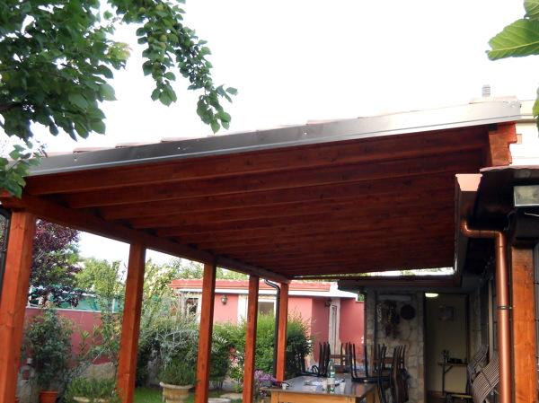 Foto pergola in legno di cover design 91840 habitissimo - Foto pergola ijzer smeden ...
