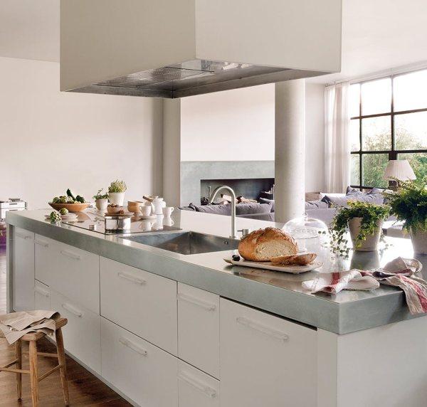 Foto piano di lavoro cucina di valeria del treste 326178 - Mueble isla cocina ...