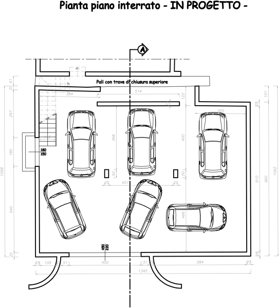 Foto piano interrato in progetto di fabio geom ortolan - Progetto ristrutturazione casa gratis ...