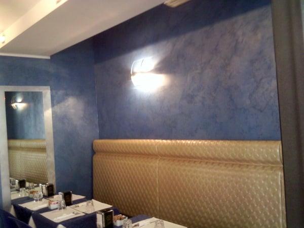 Foto pittura decorativa di prestigio su pareti in casa for Progetti di casa dei sogni