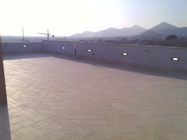 Plafoniera Terrazzo : Foto plafoniere da incasso terrazzo privato di g a impianti