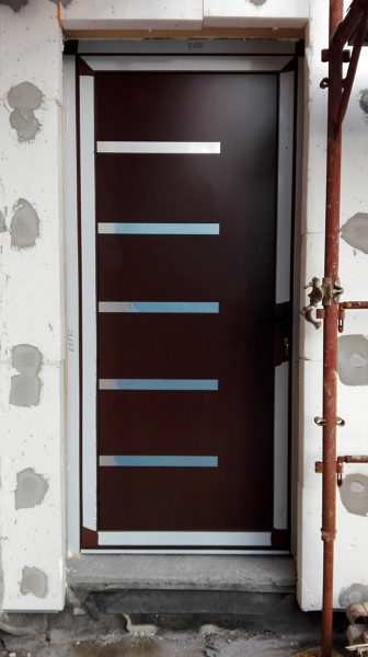 Foto porta d 39 ingresso di woodsolution srl 384102 for Porta d ingresso coloniale olandese