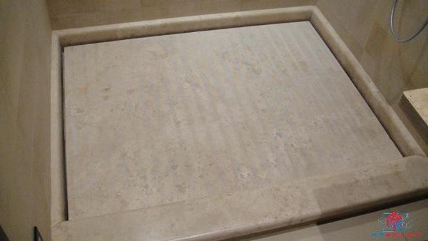 Foto: progettazione e posa piatto doccia di m.r.edilizia #569595