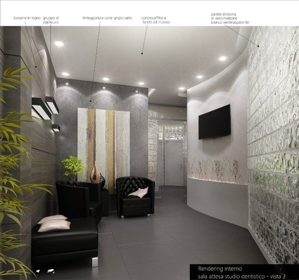 Foto progettazione per uno studio medico e odontoiatrico for Arredamento per studio medico