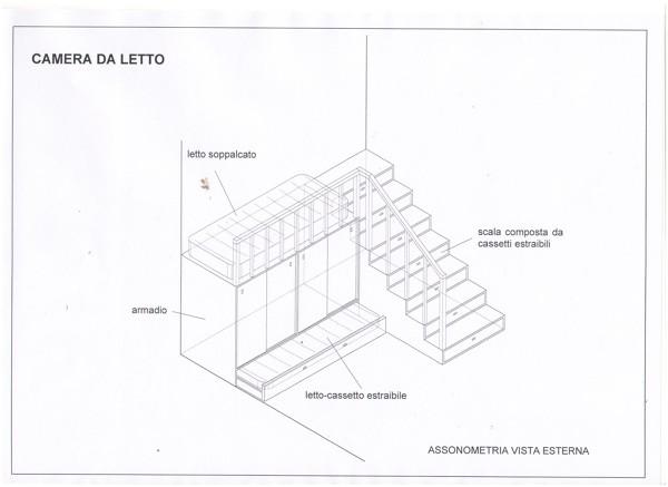 Foto progetto camera da letto di falegnameria felix a - Progetto camera da letto ...