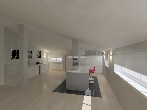 Foto: Progetto Cucina In Mansarda Moderna di Luca Riccardo ...