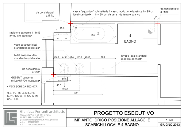 Misure Impianto Idraulico. Beautiful Luimpianto In Regime Di ...