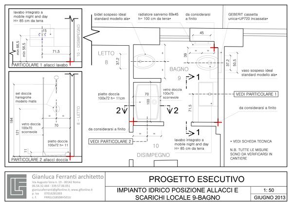 Foto: Progetto Esecutivo Locale 9 Bagno di Gianluca Ferranti Architetto #277336 - Habitissimo
