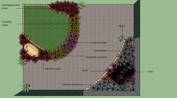 Foto progetto giardino moderno di azienda mor giardini for Giardini moderni foto