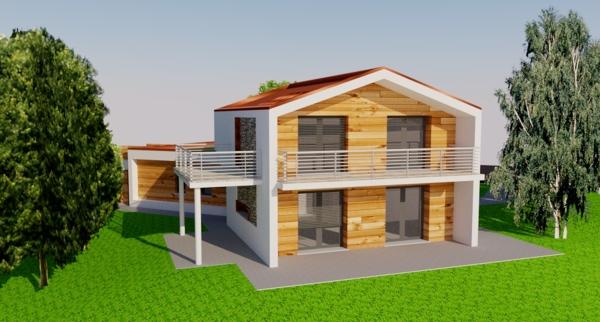Foto Progetto Per Villa Unifamiliare In Provincia Di Lecco Di