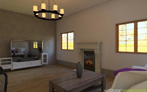 Progetto salone moderno progetti ristrutturazione casa for Idee salone