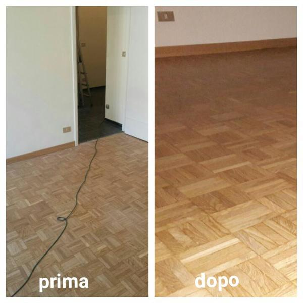 Foto pulizia parquet di servizi pandini 412805 habitissimo for Pulizia parquet
