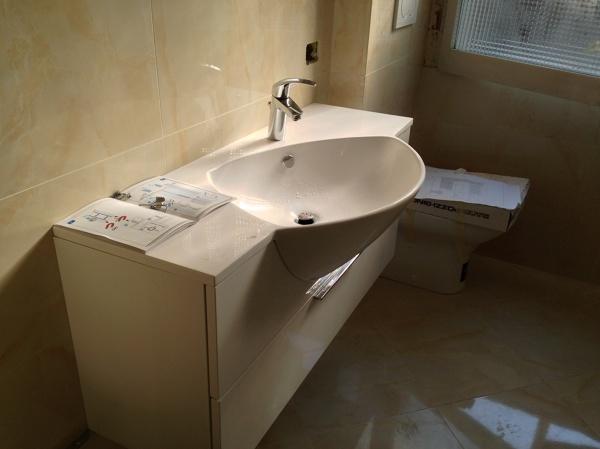 Foto realizzazione bagno e montaggio mobili di ms impresa srl 379200 habitissimo - Costo realizzazione bagno ...