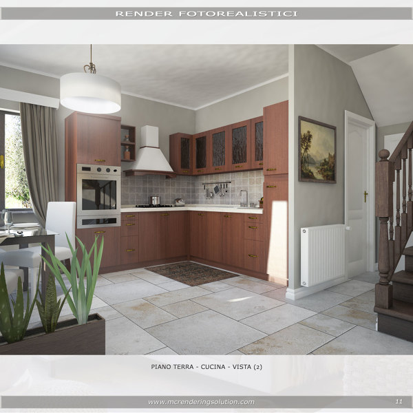 Foto Render Progetto Sala Da Pranzo Di Mc Rendering Solution 621953 Habitissimo