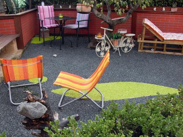 Foto resina drenante per esterno di parquet livorno luca for Parquet livorno luca alessio livorno li