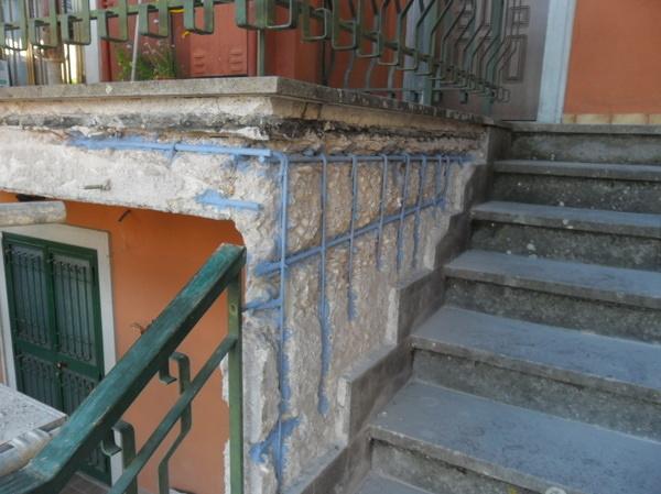 Ristrutturazione facciata palazzina