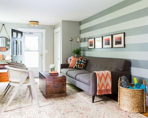 Pareti A Righe Verdi : Pareti a righe verdi come decorare le pareti di casa con carta da