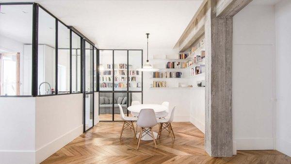 Cemento E Vetro Per Un Appartamento Industrial Chic Idee