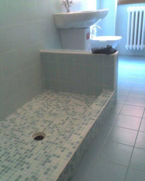 Foto ristrutturazione bagno costruzione della vasca in muratura di edil piancone 483113 - Costruzione bagno ...