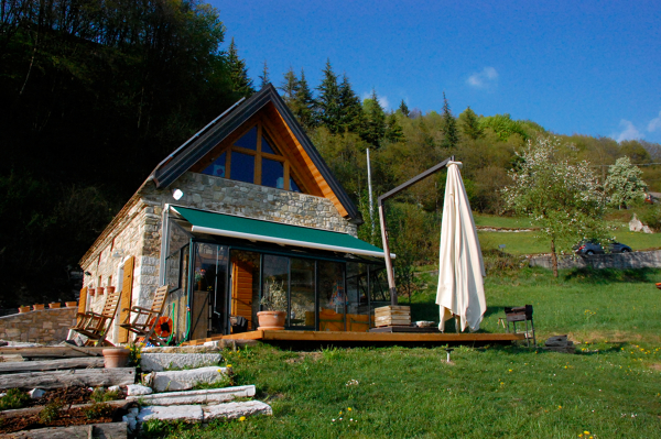 Foto ristrutturazione di case in pietra in alpago di mr for Case da architetto