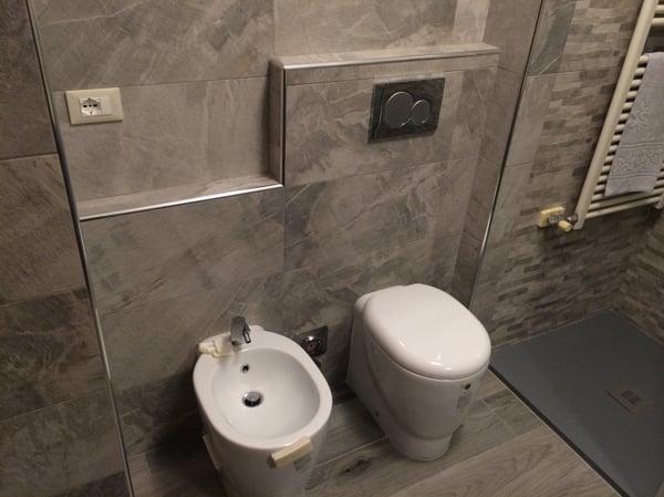 Foto rivestimento bagno in pietra di g snc habitissimo