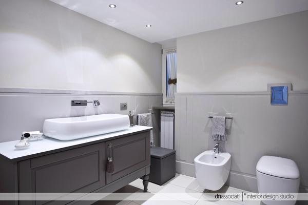 Foto sala da bagno di dnassociati interior design studio - Sala da bagno ...