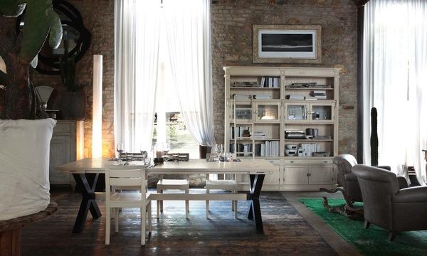 Tavolo Da Pranzo Shabby : Foto salotto con tavolo da pranzo shabby habitissimo