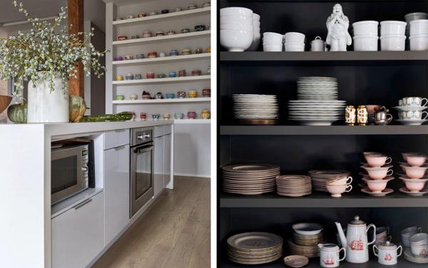 Foto scaffali su misura in cucina di rossella cristofaro - La cucina di rossella ...