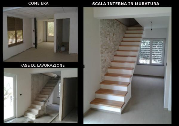 Scala In Muratura Moderna.Foto Scala Moderna In Muratura Di Architetto Gaetano Fruda