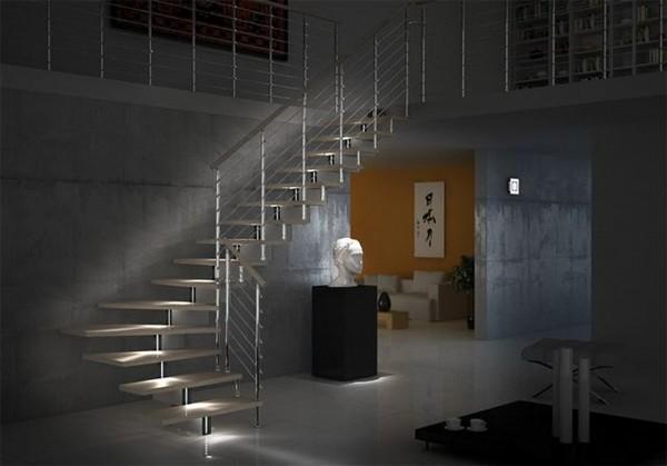 foto scala per interni di arch infissi 221800 habitissimo. Black Bedroom Furniture Sets. Home Design Ideas