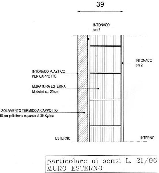 Foto sezione muro di rampazzo marco 75367 habitissimo - Aprire finestra muro esterno ...