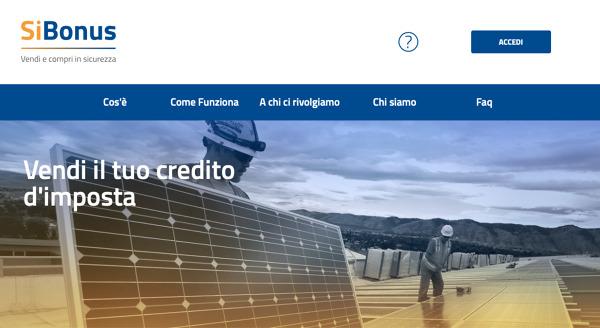 Nuovo canale per la compravendita dei crediti d'imposta