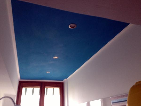 Foto soffitto cartongesso decorato di ambienti lepro srl - Cartongesso bagno ...