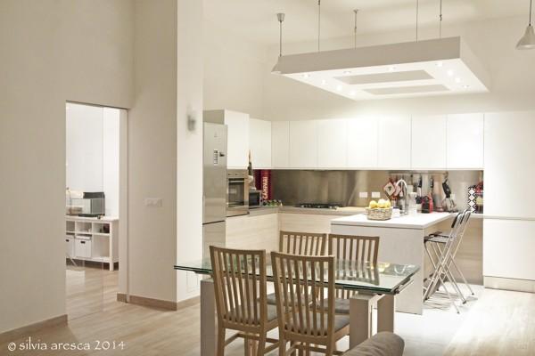 Foto soggiorno con angolo cottura di architetto andrea for Soggiorno angolo cottura