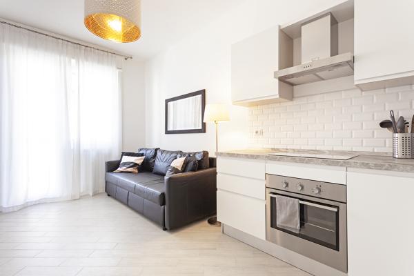 Foto: Soggiorno con Cucina a Vista di Studio Marceca #727884 ...