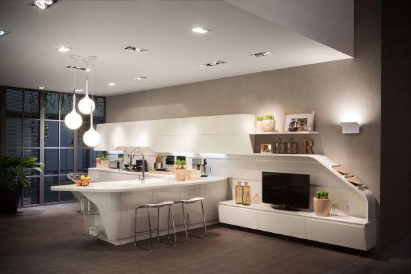 Foto: Soggiorno e Cucina Insieme di Federica Bossoni #647362 ...
