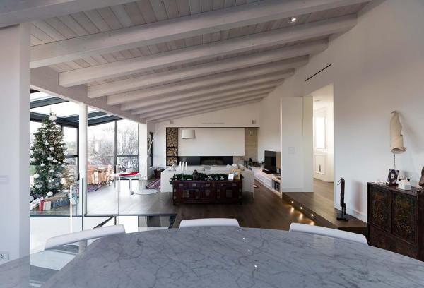 Foto soggiorno open space di manuela occhetti 519328 for Arredamenti per interni casa