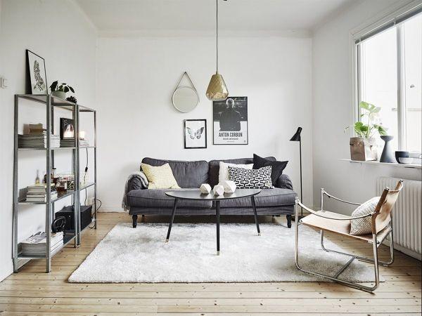 Foto soggiorno stile scandinavo di manuela occhetti for Arredamento stile scandinavo