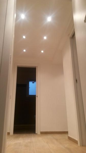Foto soppalco in cartongesso con faretti di edilizia in for Faretti a led per casa