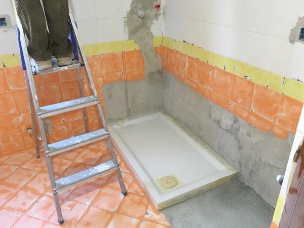 Foto: sostituzione di vasca con piatto doccia 120 x70 di casambiente