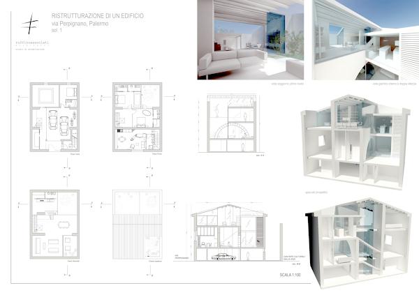 Foto tavola di progetto di dario pernice architetto - Progetto ristrutturazione casa gratis ...